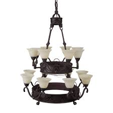 yosemite home decor isabella collection 16 light earthen bronze