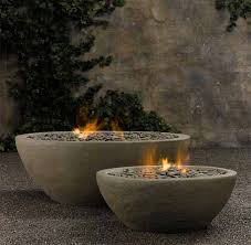 Restoration Hardware Fire Pit by River Rock Fire Bowl From Restoration Hardware