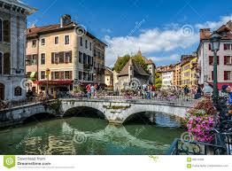 Annecy France Map by The View Of The Old Town Annecy France Editorial Photo Image