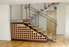 Chrome Banister Decorations Excllent Under Stair Wine Cellar Storage Ideas With