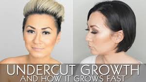what s a undercut my undercut growth and how it grows fast youtube
