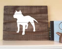 american pitbull terrier figurines pit bull terrier etsy
