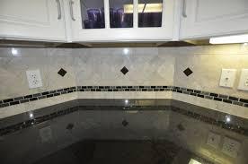 tile accents for kitchen backsplash with botticino fiorito marble tile backsplash and glass tile