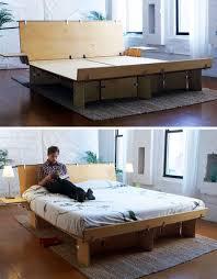 Modular Bed Frame Modular Eco Plywood Bed Folding Furniture Pinterest Plywood