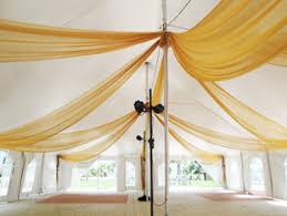 Chiffon Ceiling Draping W Drapings Custom Event Draping Chiffon Ceiling Treatments And