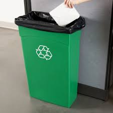 Green Kitchen Trash Can Ideas Recycle Trash Cans For Differentiate And Organize Garbage