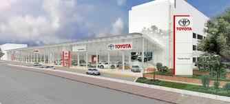 toyota car showroom toyota unveils new modern flagship showroom ictville