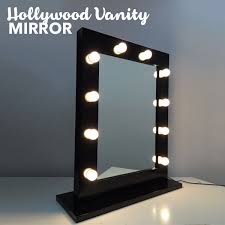 hollywood makeup mirror with lights hollywood vanity makeup mirror with lights in black buy makeup mirrors