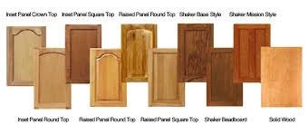 types of wood cabinets door styles k c custom cabinets inc