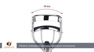 kipozi pro eyelash curler with soft silicone refill pads long