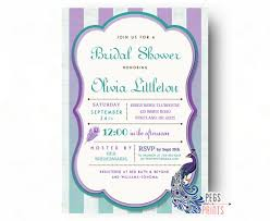 peacock invitations peacock bridal shower invitations peacock bridal shower invitation