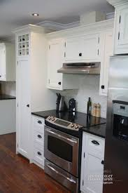 White Kitchen Cabinets Granite Countertops by Kitchen Cabinet White Kitchens With Black Granite Countertops
