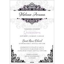 quinceanera invitation wording wording for a quinceanera invitation we like design