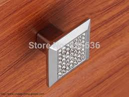 glass crystal knob pulls cabinet door handles dresser pulls knobs