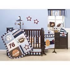 Baby Boy Bedding Themes Crib Set Sports Creative Ideas Of Baby Cribs