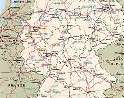 Black Forest Germany Map Eurocycle