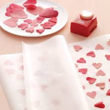 gift paper tissue floral cutout wrap and cards tissue paper wax and wraps