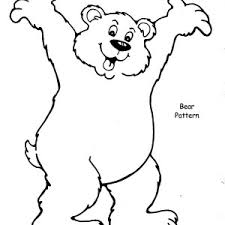 hairy brown bear coloring pages place color