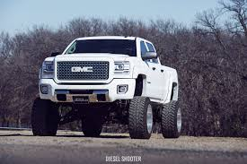 lifted white gmc royal blue gmc sierra on fuel off road wheels u2014 carid com gallery
