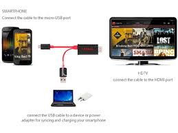 connect any mobile to your tv full hd 1080p micro usb mhl to