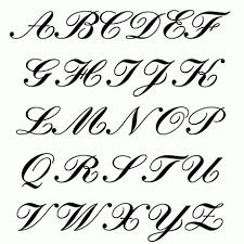 lettering designs script letter of recommendation