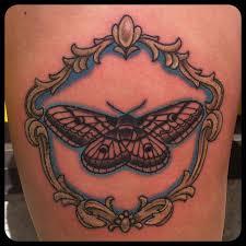 moth tattoo images u0026 designs