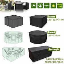 waterproof garden patio furniture cover covers for rattan table cube