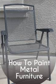 Metal Patio Furniture by Best 25 Painted Outdoor Furniture Ideas On Pinterest Cable