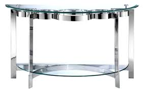 Accent Table Decor Sofa Beveled Circa Glass Table Top 70 35 In At Home Stunning