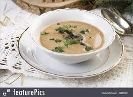 food polish mushroom soup stock picture i3361069 at featurepics