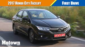 2017 honda city first drive motown india youtube