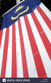Red White Flag Malaysian Flag Malaysia National Identity Flags Country Red White