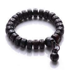 prayer bracelet images Hand carved peach wood malas tibetan buddhist prayer bracelet jpg