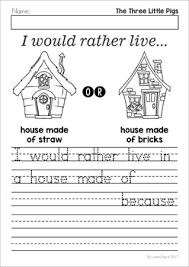 pigs worksheets activities lavinia pop tpt
