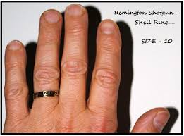shotgun wedding ring made a remington shotgun shell ring from yesterday s find