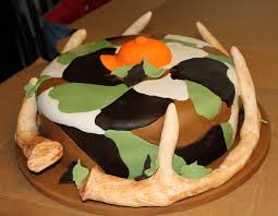 deer antlers grooms cake antlers made from copper tubing and