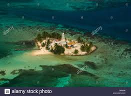 tropical island paradise aerial view belize coral reefs and island paradise tropical