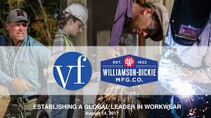 Seeking Vf Vf Corporation Vfc Acquires Williamson Dickie Mfg Slideshow