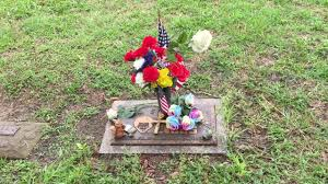 visit to bob ross u0027 gravesite youtube