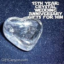 15 year anniversary gift ideas for him 15 year anniversary gift pinteres