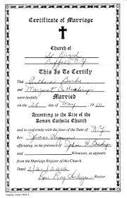 catholic marriage certificate certificate ireland sle fresh marriage certificate