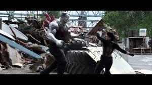 Gina Carano Boob Slip - deadpool movie clip superhero landing ryan reynolds gina