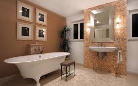 nice bathrooms with wallpaper for your inspirational home