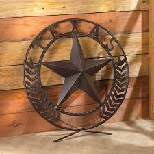 round metal texas lone star 25
