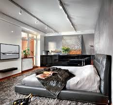 Black Leather Platform Bed Black Leather Platform Bed Interior Design Ideas