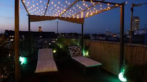 28 Ideen Fur Terrassengestaltung Dach After Sundown U2013 Kreative Terrassenbeleuchtung