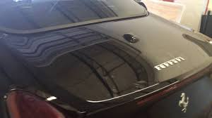 window tinting fort lauderdale window tinting ferrari california t by tint wrap usa youtube