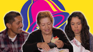mexican people try taco bell for the first time youtube