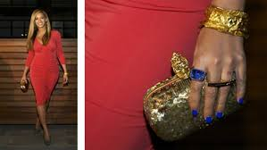get the look beyonce u0027s electric blue nails rucuss