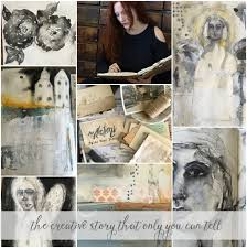 Two Story Workshop Reflections Paint Your Story Art Journaling Workshop Come And